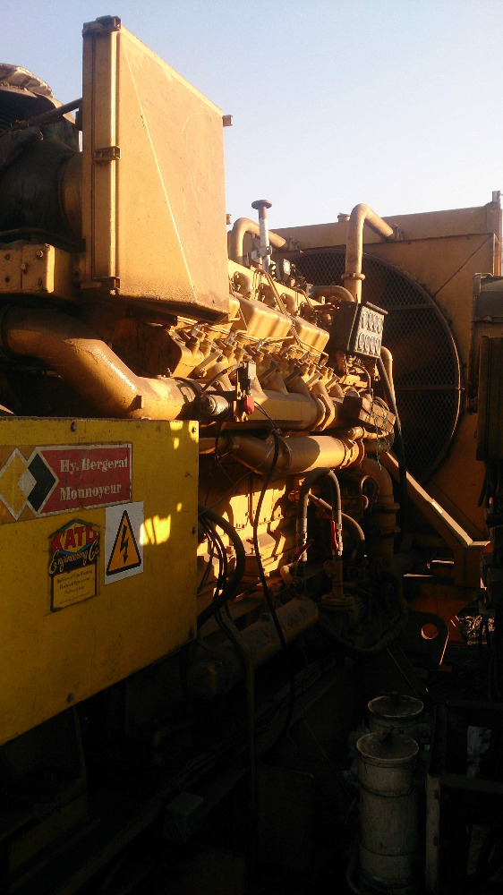 Used Caterpillar D399 Generator