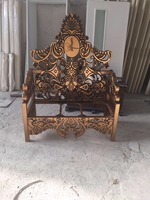 hand carved furniture - classic dining room furniture made in Turkey armchair