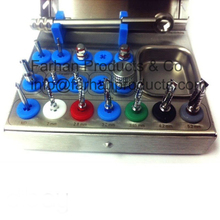 New Dental Implants Full Basic Surgical Kit / Drills / Drivers / Ratchet / Dental Implants / Tool