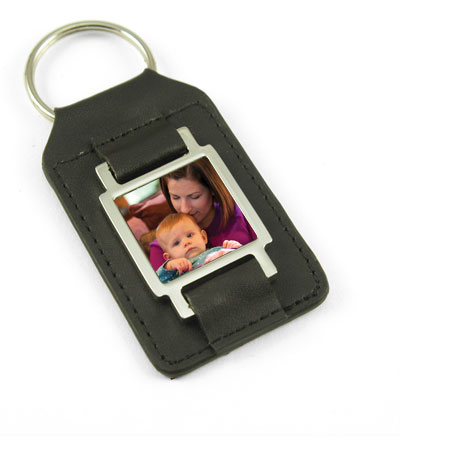 photo holder key chain