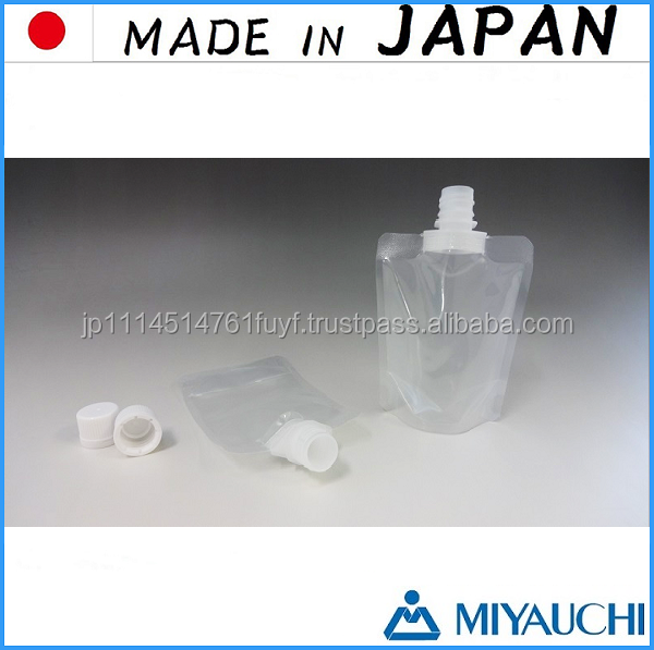 Functional and disposable plastic food bag made in Japan