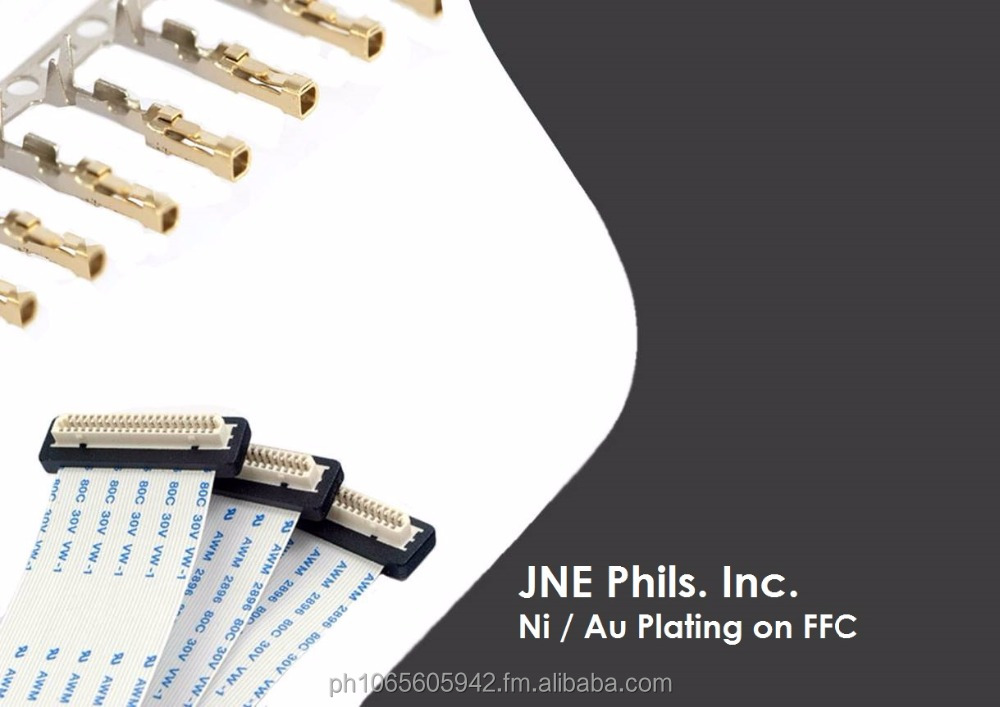 Nickel & Gold Plating of Flexible Flat Cable (FFC)