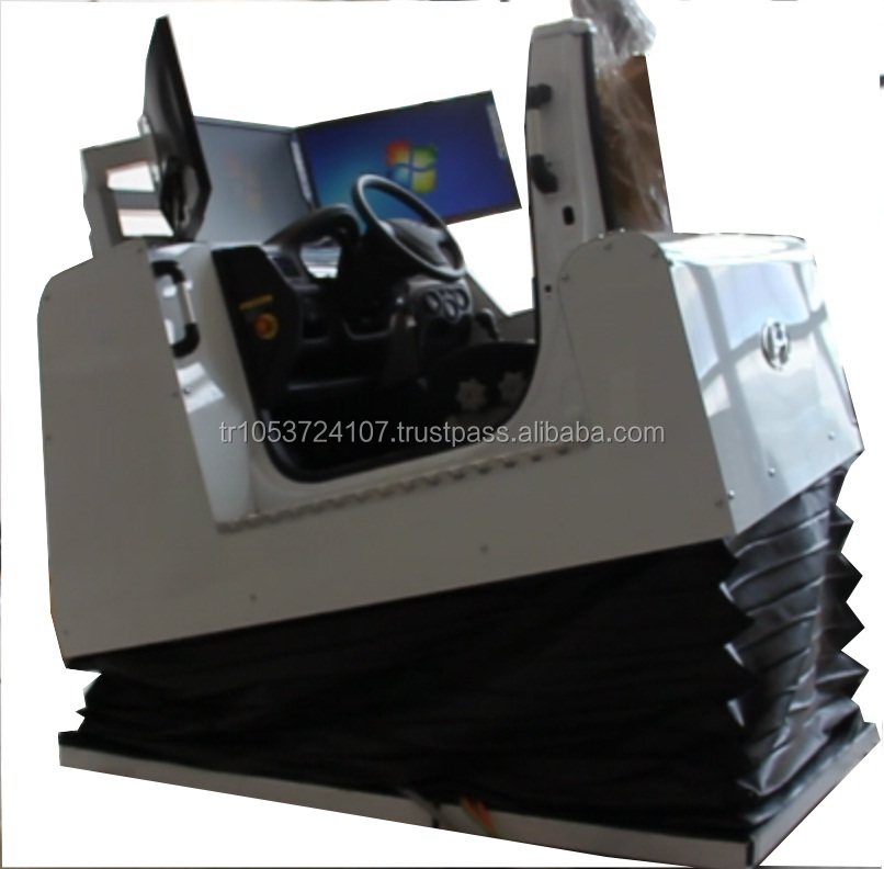 Motion Systems 2-6 DOF Real Equipment Car Driving Simulator <<(LEFT- RIGHT HAND DRIVE// HIGH QUALITY)