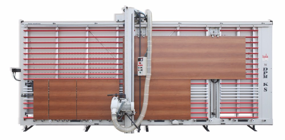 semi-automatic vertical panel saw machine
