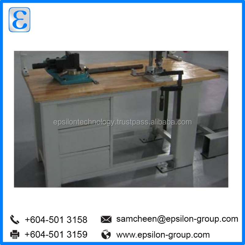 Industrial Metal Workbench