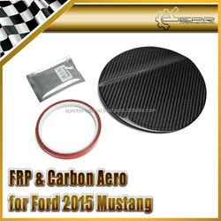For Ford 2015 Mustang Carbon Fiber Fuel Tank Cover