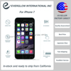 US SELLER Factory Direct Tempered Glass Screen Protector for iphone7, for iPhone 7