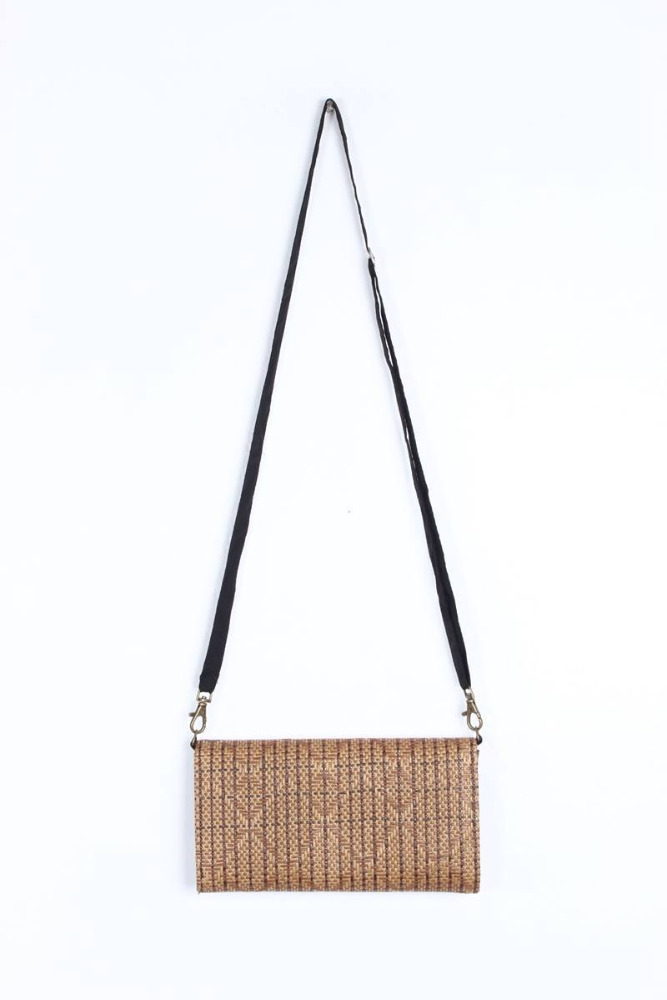 Gorgeous Wallet With Rattan Material
