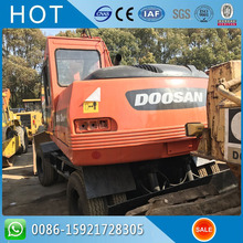 Doosan Daewoo Used Wheel Excavator 140WV , Hot Sale in Pakistan