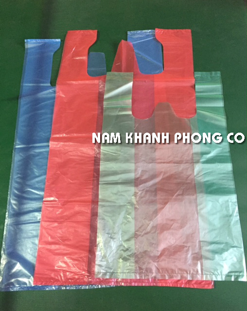 Clear bag with customized color used for shopping/ packaging