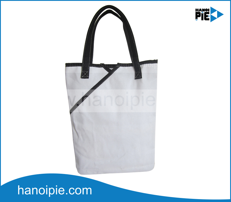 Hot selling eco natural cotton canvas tote bag shopping