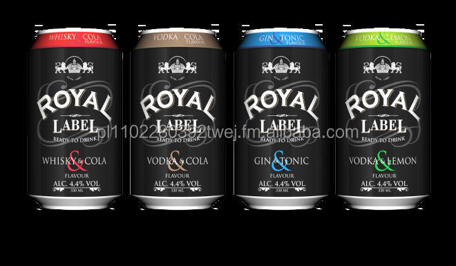ROYAL & JAVA DRINKS 330mL 4,4%ALC