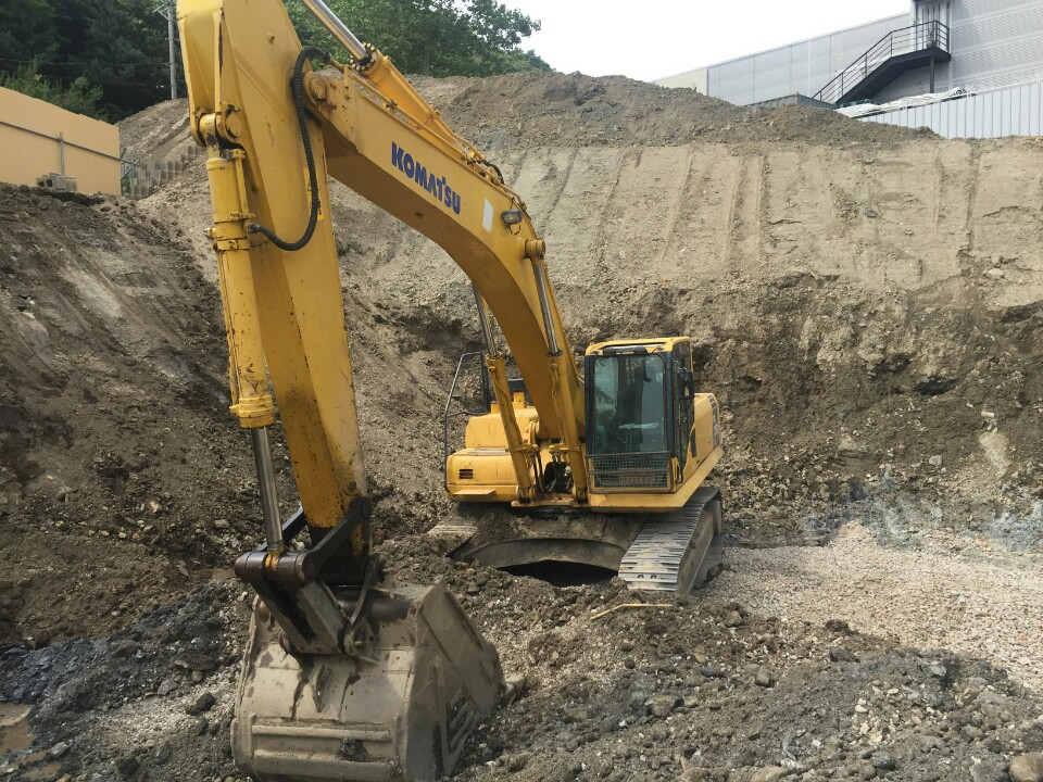 [ Winwin Used Machinery ] Used excavator KOMATSU PC350LC-8 2007yr For sale