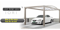 High-quality and high-sterength folded plate car port IORI by LIXIL made in Japan LIXIL s port III