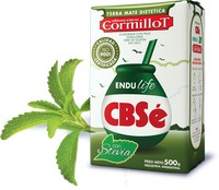 Yerba Mate CBSe Endulife - with Stevia 0,5KG PACK Argentina