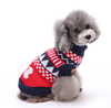Fashion pet dog winter dress warm dog cat flannel costume