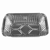 Airline Food Packing Aluminium Foil Container