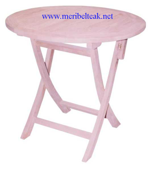 Indonesia Furniture-PARABOLA TABLE Teak Furniture
