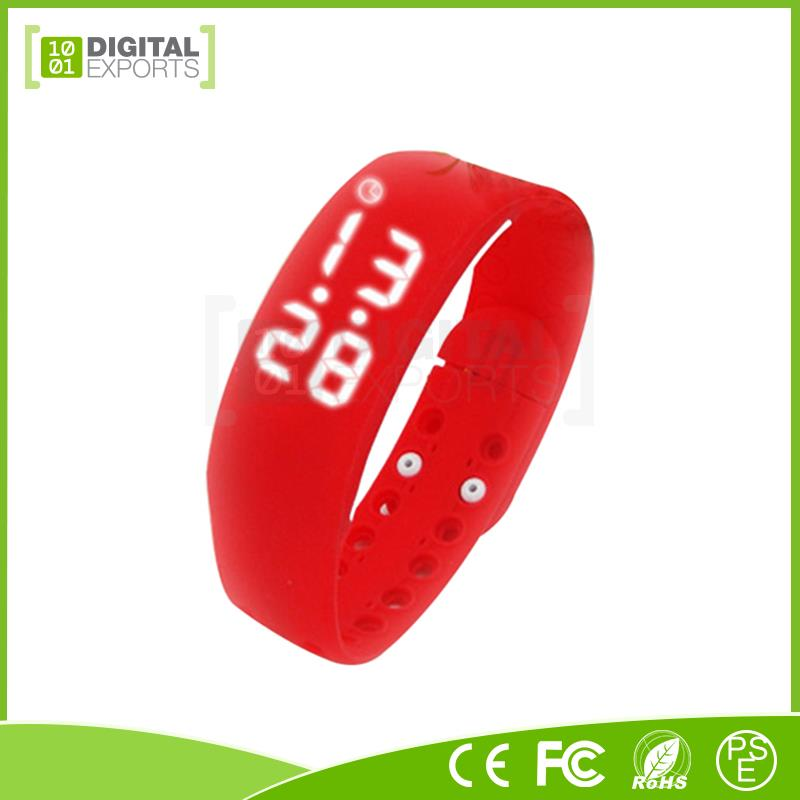 Digital Exports heart rate watch/ heart rate smartband/ wristband pedometer bluetooth smart bracelet