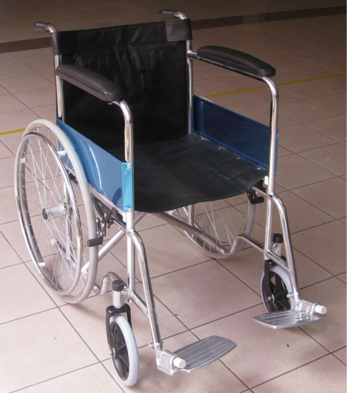 Malaysia retail online trading shop selling chromed wheelchair for buy at very cheap low economic affordable price