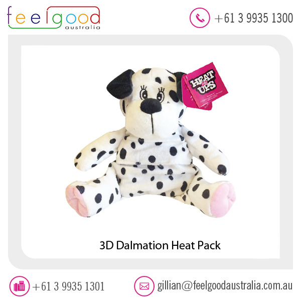 Heat Pack 3D Dalmation Dog Pattern Available at Lowest Market Rate