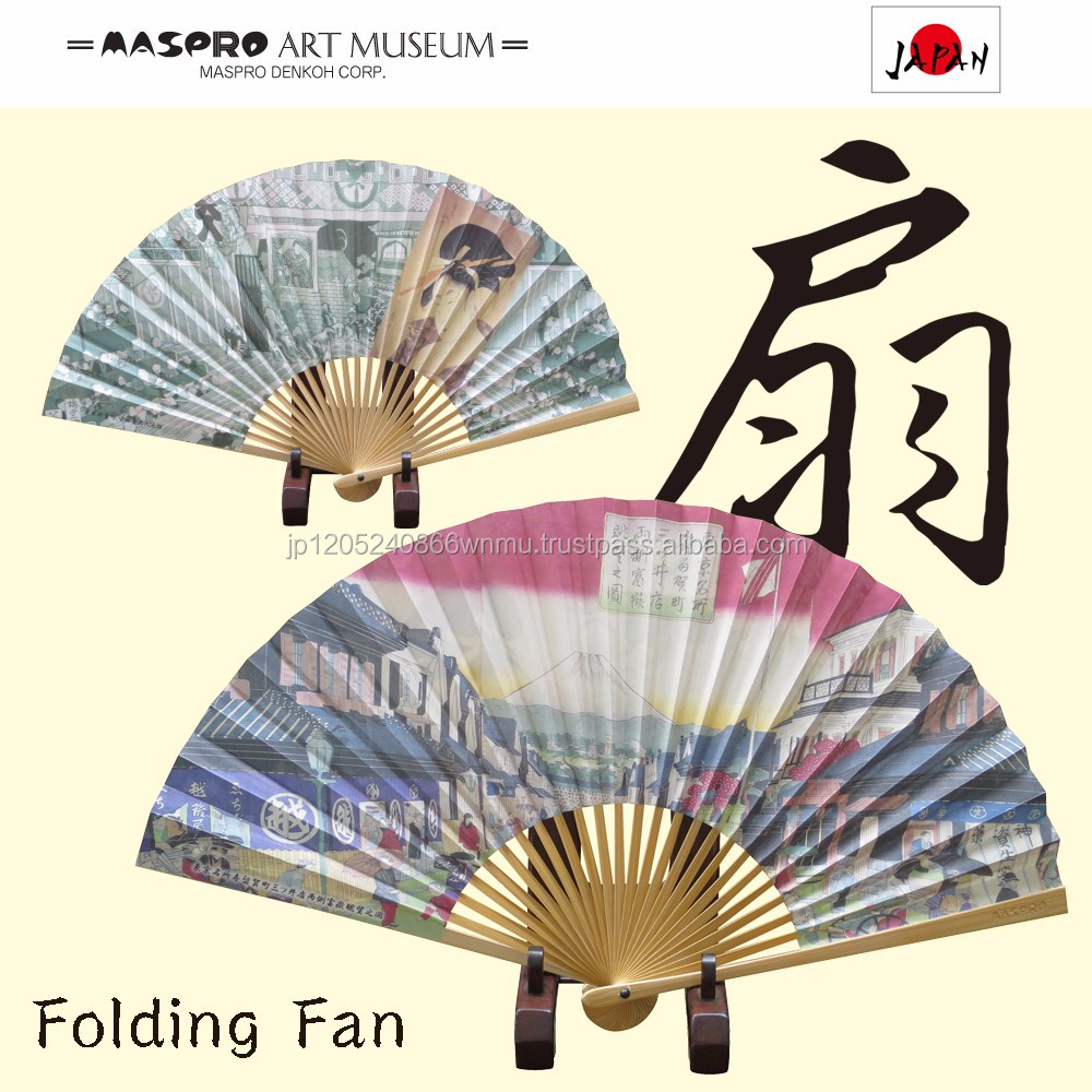 High quality and Handcrafted drawing of design of hand fan for your art collection with a fragrance of incense