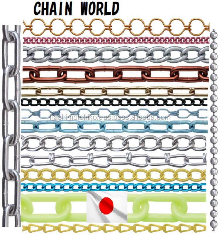 Safety handy chain lock bicycle chain material from japanese maker