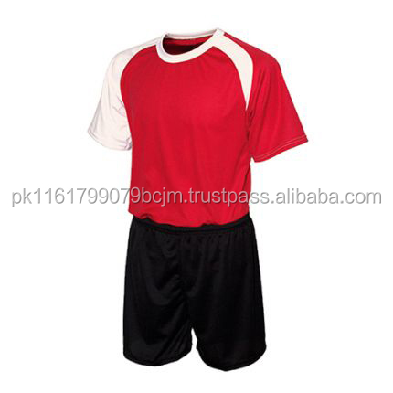 Quick Dry Printing Soccer Uniform For Men