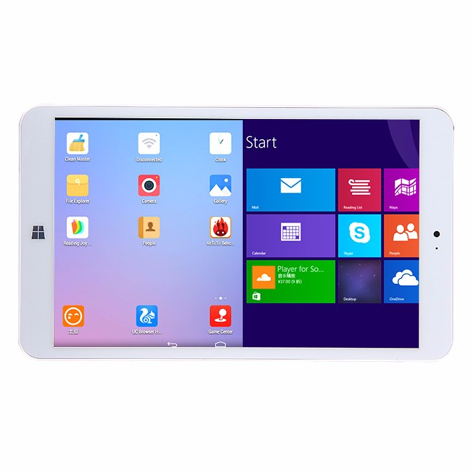 DHL Shipping from France Onda V820w Dual Boot Intel Z3735F Quad Core Tablet PC 8 inch IPS Screen 2GB/32GB