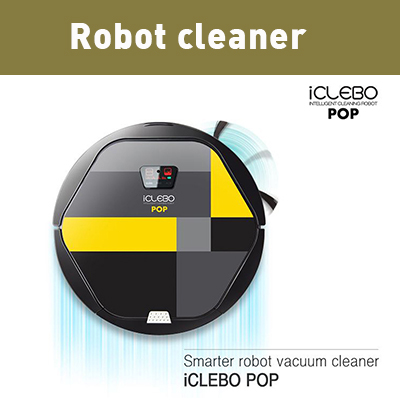 Vacuum Cleaning Robot iCLEBO POP
