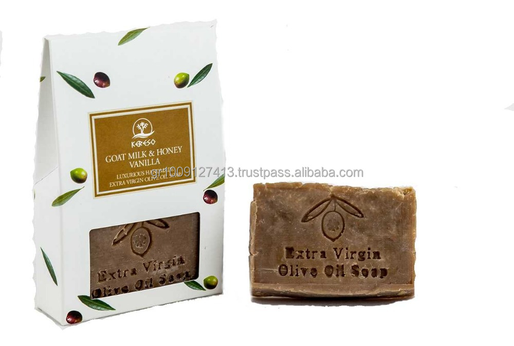 Handmade Natural Olive Oil Soap with Goat milk
