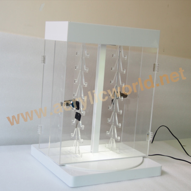 led acrylic knife display stands/acrylic knife holders/knife box with lights