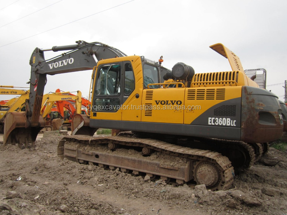 Used heavy equipment, used machinery Volvo 360 big excavator for hot sale (whatsapp: 0086-15800802908)