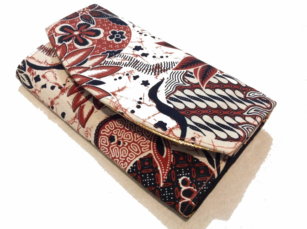 "Wholesale Cheap Custom Women Batik Wallet ""Hartati Heritage"""