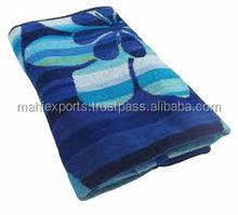 Innovative printed beach bath gym travel towel sports towel