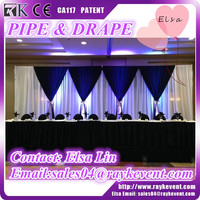 High quality aluminum pipe and drape pipe and drape for wedding