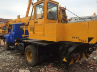 used XCMG QY8D truck crane in good condition for sale