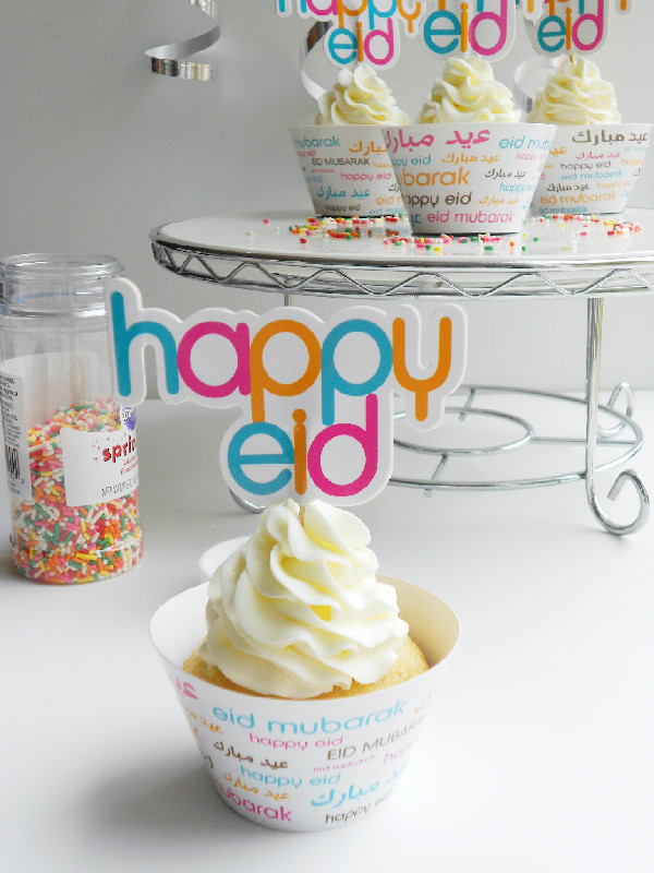 Font Cupcake Wrapper & Topper