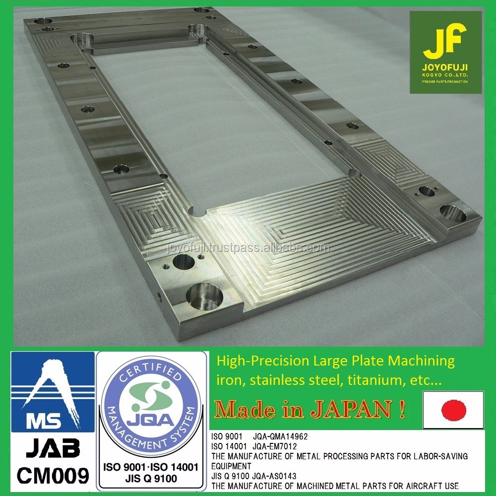 Durable flange by cnc machining with multiple functions made in Japan