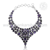 Scintillate Purple Necklace Jewelry 925 Sterling