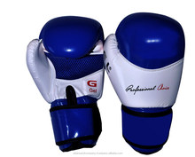 Gel Injected Breathable Rex Leather Boxing Gloves