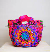 Handbag Embroidered Handmade Shopping Bag