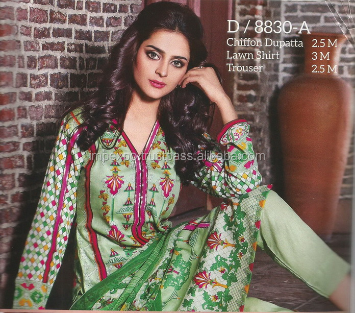 Pakistan lawn suit price / Cotton lawn Pakistan / Lawn salwar kameez