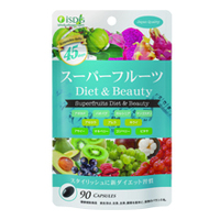 ISDG Super Fruit Diet and Beauty Health Food 90 Tablets Made in Japan