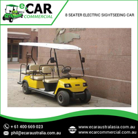Best Eco-Friendly Electric Sightseeing Golf Car with Long Battery Life by Trusted Manufacturer