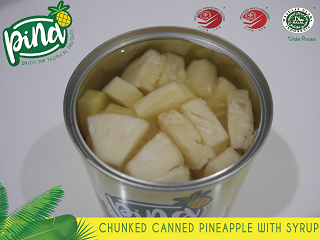 Sell Canned Tidbits and Chunked Pineapple in Syrup From Indonesia
