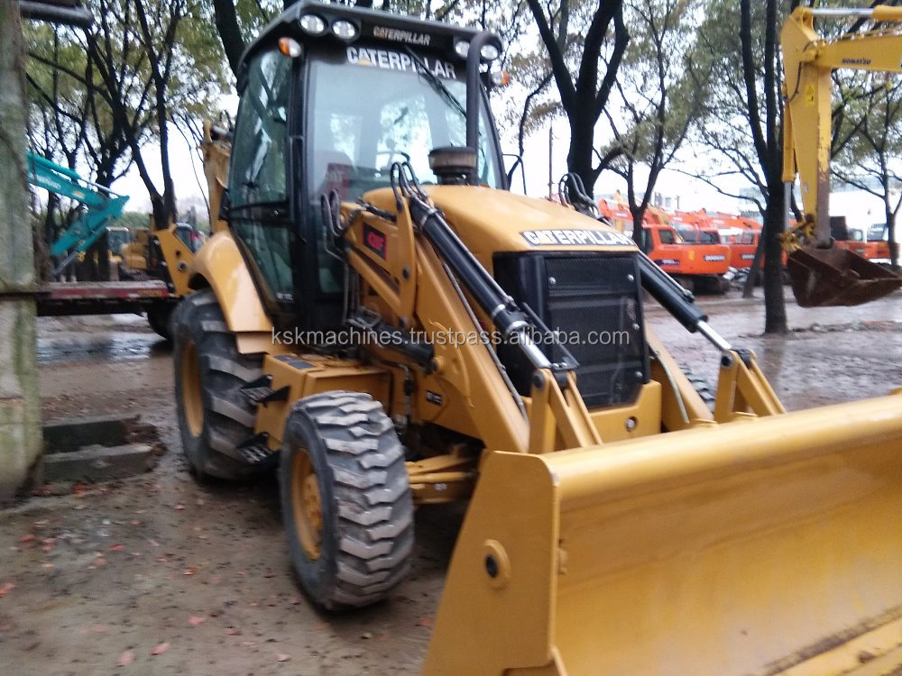 caterpillar used wheel backhoe excavator for agriculture for sale