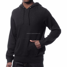 Mens hip hop clothing plain blank black fleece hoodie customizing hoodies for men