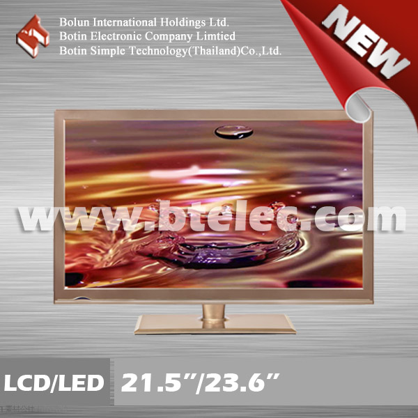 Coffee cabinet 23.6 inch LCD/LED TV with refurbished A grade panle