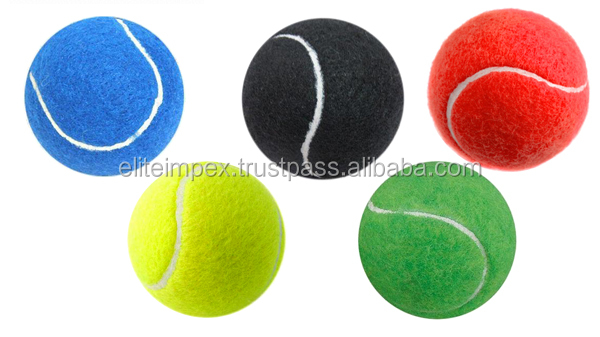 Dog Play Coloured Tennis Balls